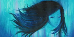Watercolor - Rain by mollie