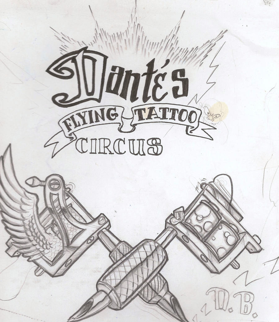 Dantes flying tattoo circus by mannylove1 on deviantart for Dante s inferno tattoo