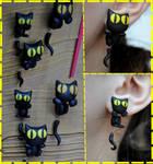 Kitties earrings