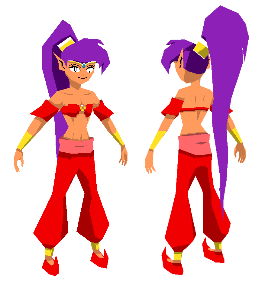 Thinking about a 3D-Shantae game... - Page 2 Shantae_by_laperen-d4fdqtk