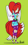 contest: angel-wolfmaiden. by heroic-moose