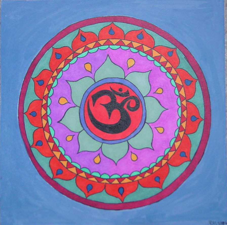 Om Mandala By Ninjashinobu8890 On Deviantart
