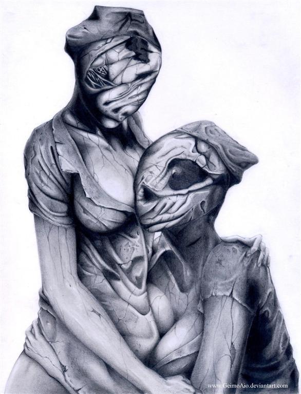 Silent HillI dont need lips by GeimoAio on DeviantArt
