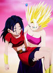 Kale  Caulifla - Dragon Ball S