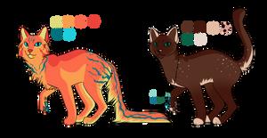 Custom Adoptables by Xavienna