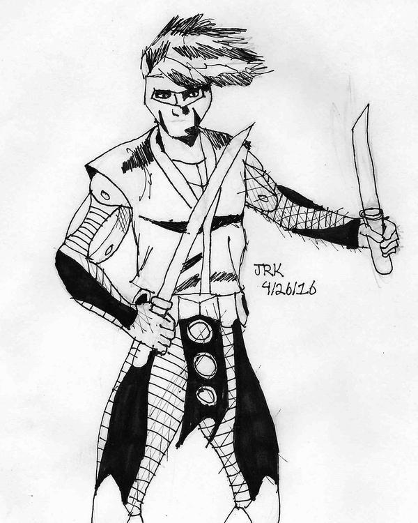 DSC Ninjak by DarkKnightJRK