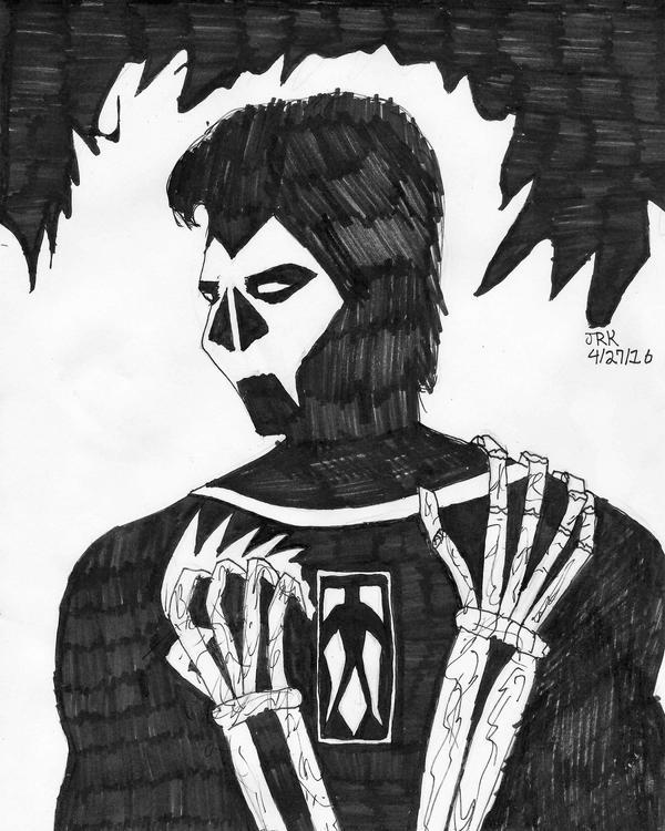 DSC Shadowman by DarkKnightJRK