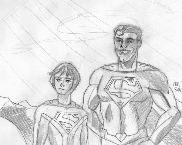 My Hero Supermania by DarkKnightJRK