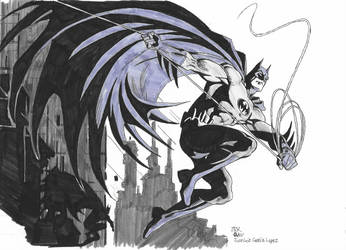 WSC Batman by Jose Luis Garcia Lopez by DarkKnightJRK
