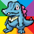 little Totodile by CatCowProduce
