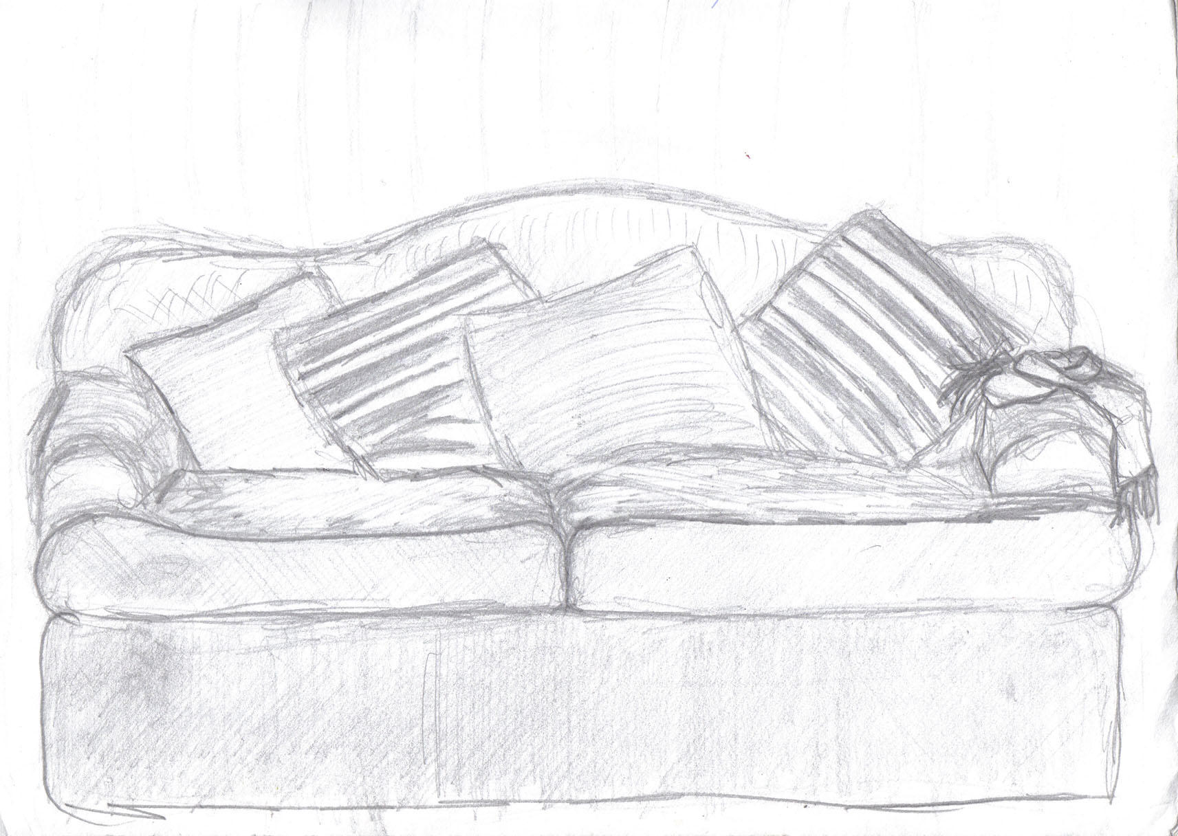 Couch Drawing plain couch drawing download this image as for design decorating
