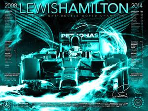 Lewis Hamilton Formula 1 Double World Champion