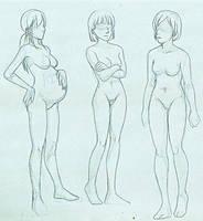 Original: Woman Studies by zulenha