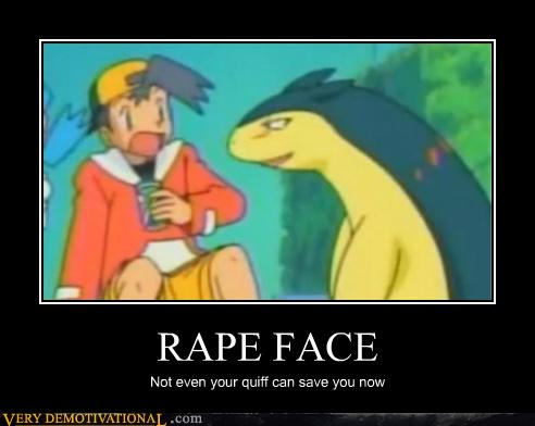 Why The Rape Face Considered Funny