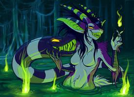 MONSTERRIFY: Swamp Fire