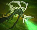 The Dark Dragon by squeedgemonster