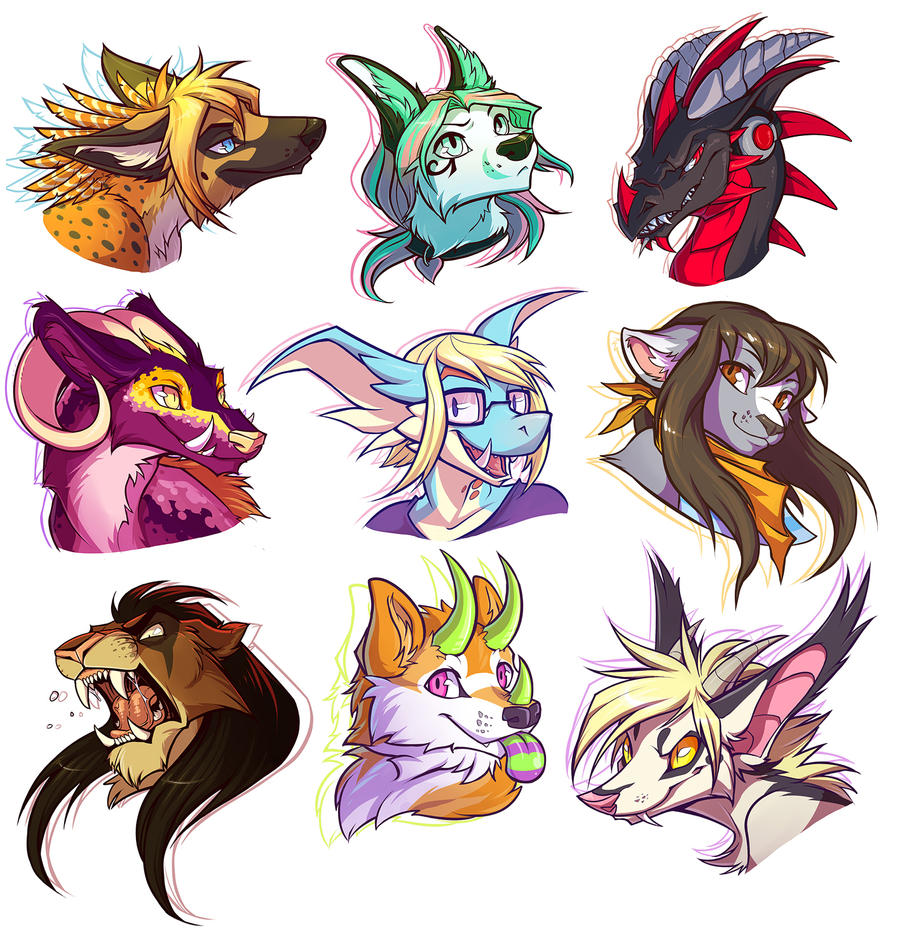 FLOATING HEADS EVERYWHERE By Squeedgemonster On DeviantArt