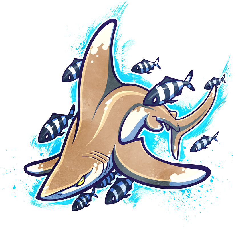 SHARKWEEK: Oceanic Whitetip by squeedgemonster