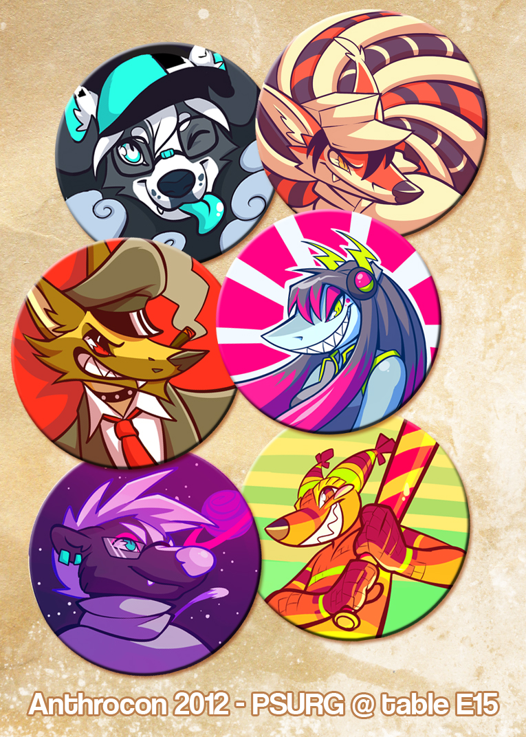 BUTTONS by squeedgemonster