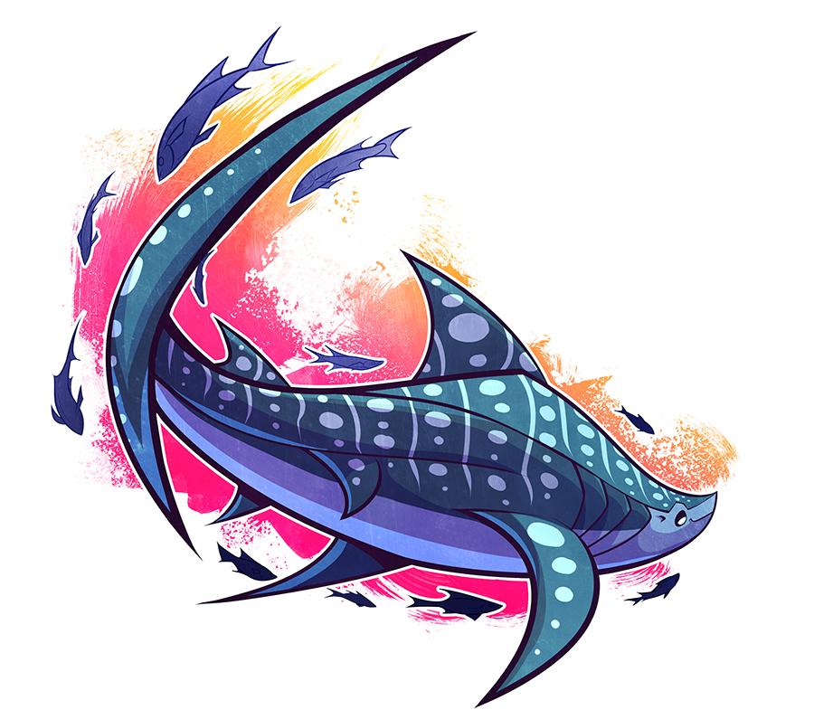 SHARKWEEK: Whale Shark by squeedgemonster