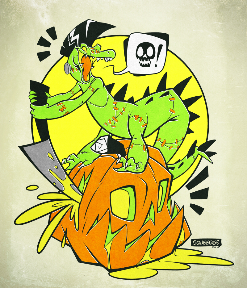 Croc-O-Ween 2012 by squeedgemonster