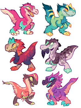Dino Adopts! CLOSED