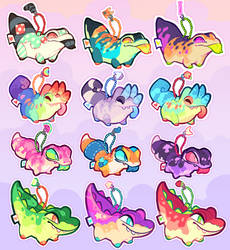 KEYCHARMS [s2] OPEN 3 LEFT by squeedgemonster