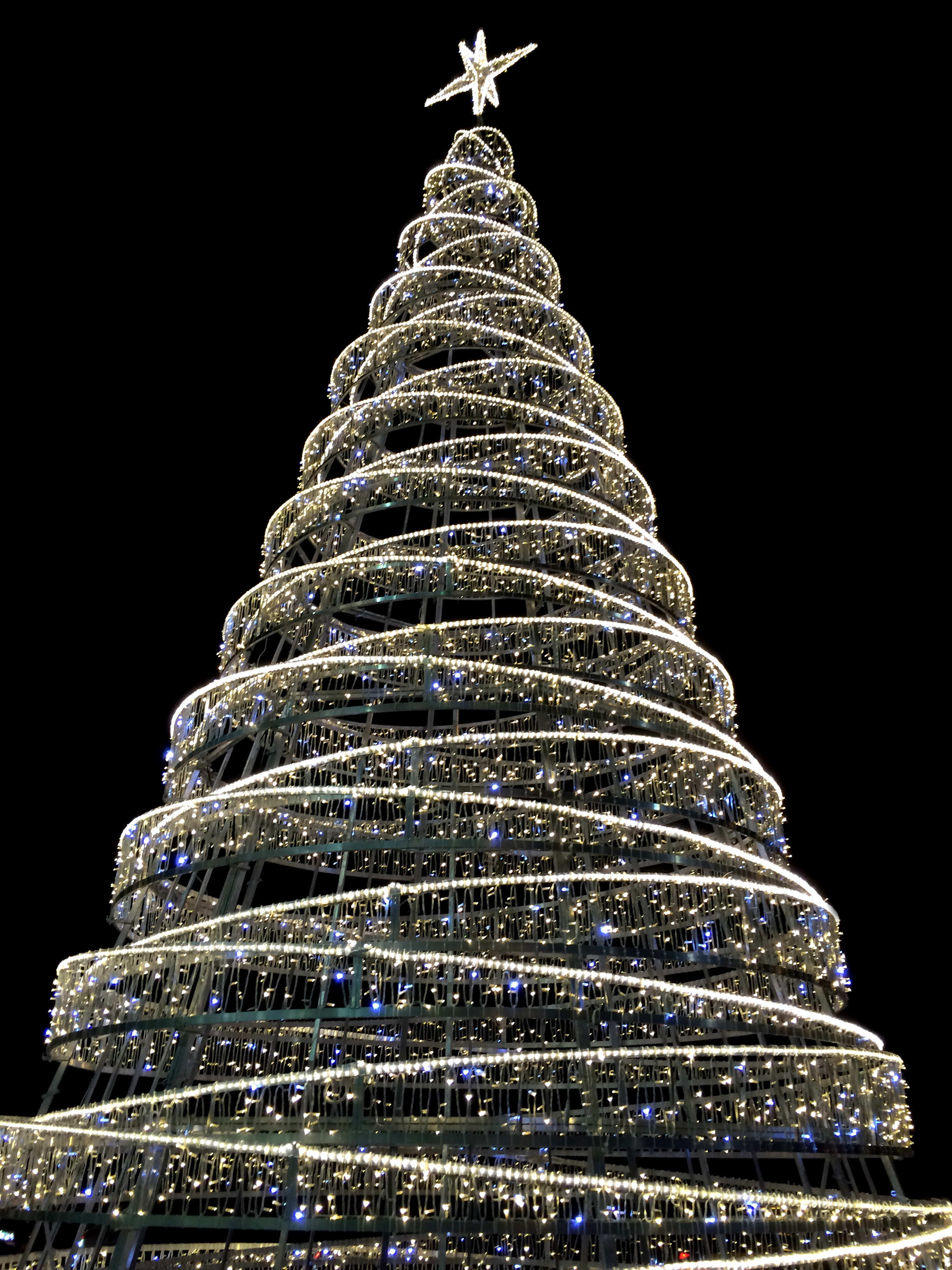 Christmas Tree Yard Art