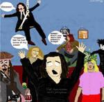 Johnny Depp gone mad