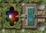 Ephremon Torii Portal Forest Temple 20x28