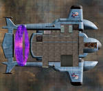 Eberron Sanguine Dusk Airship Interior  15x17