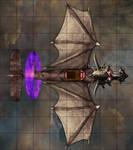 Necro Dragon Plane 8x9