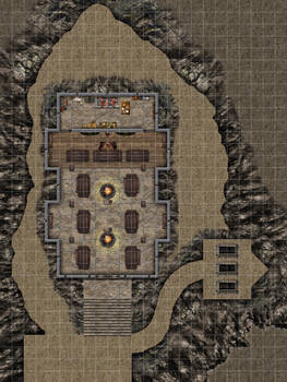 A-10 Great Hall of The Jarl INTERIOR 20x32