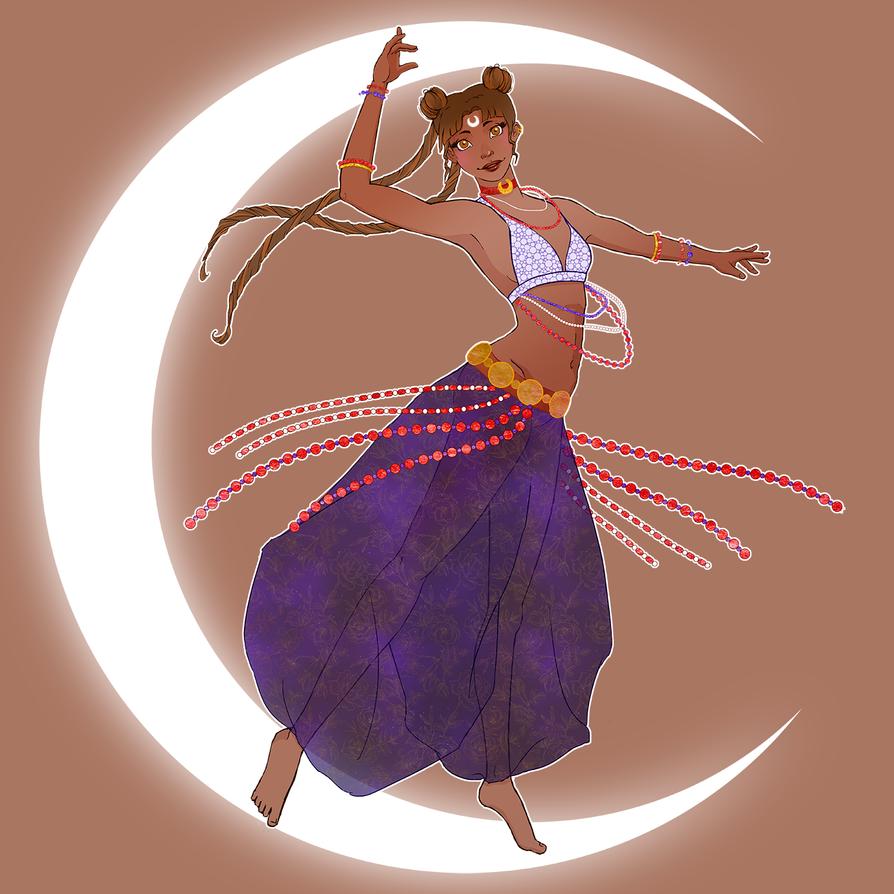 Sailor belly dancer by Creationfail