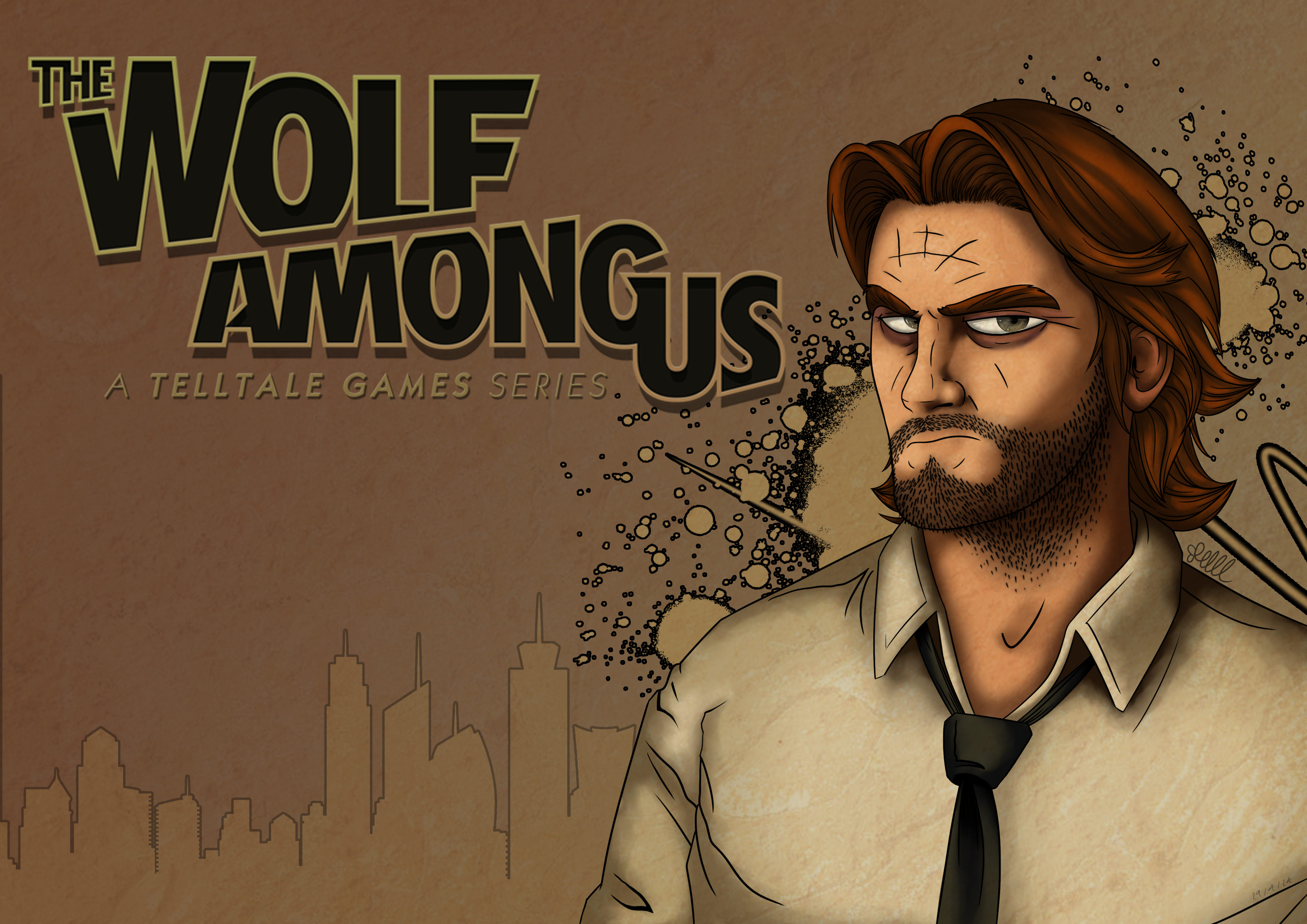 The Wolf Among Us By Bugzy111 On Deviantart