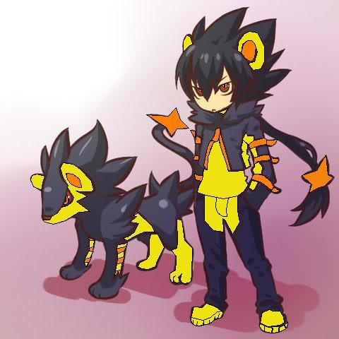Shiny Luxray Gijinka by jesse-anime on DeviantArt