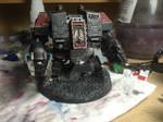 Black Templars ironclad dreadnought.