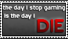 Gamer Forever stamp by Darkmax204