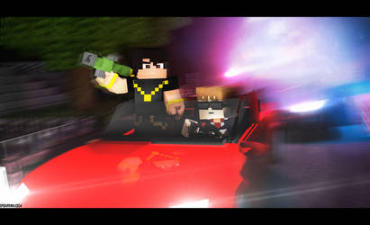 2/5 Free Commission - Police Chase [Bet] by Darkmax204