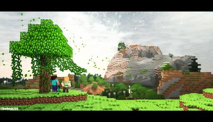 Minecraft Anniversary Collab by Darkmax204