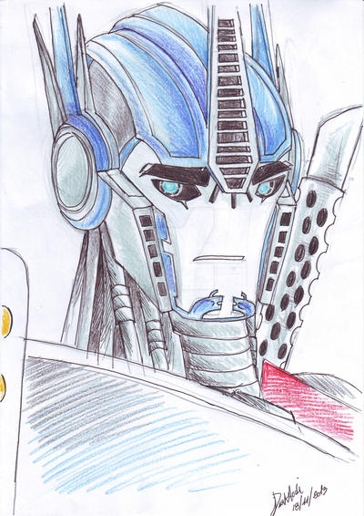 TFP-Optimus Prime by DarkAudi1728