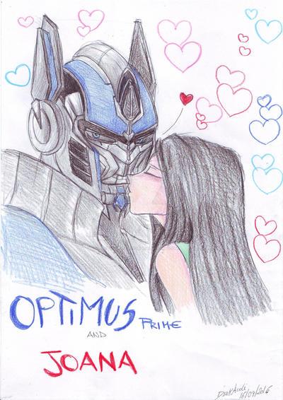 Optimus and Joana by DarkAudi1728