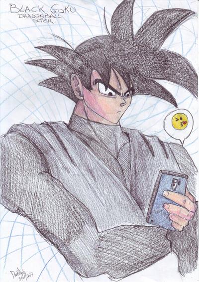 Black Goku by DarkAudi1728