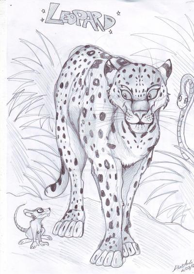 Leopard by DarkAudi1728