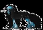 Boucle Unicorn Import B354