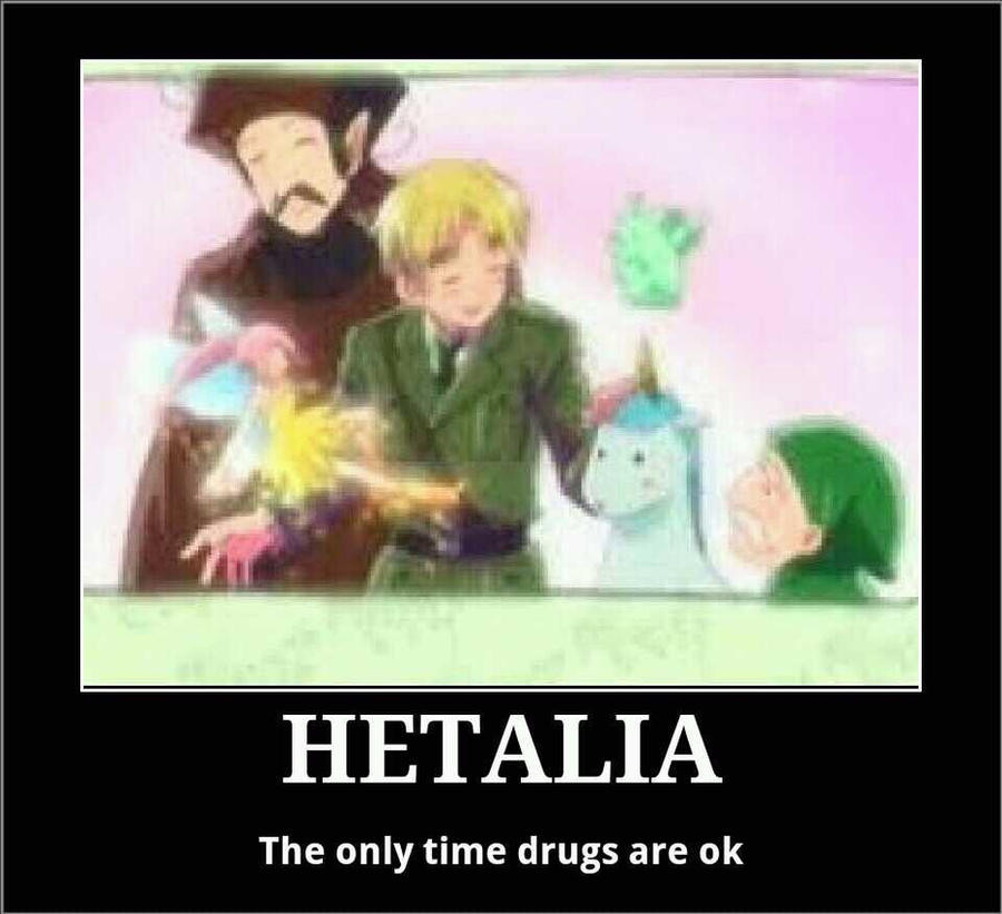 Hetalia and drugs by easterlil