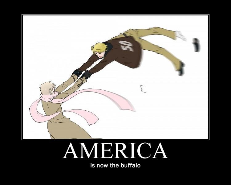 He Is A Buffalo by easterlil