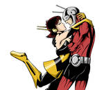 COMMISSION - Wasp X Antman