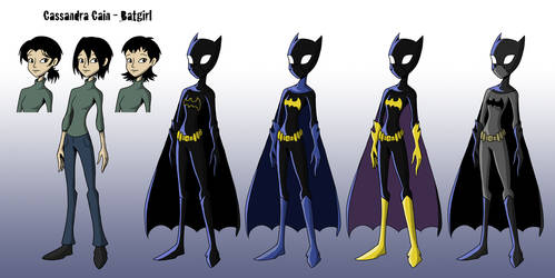 Cassandra Cain Animation Design