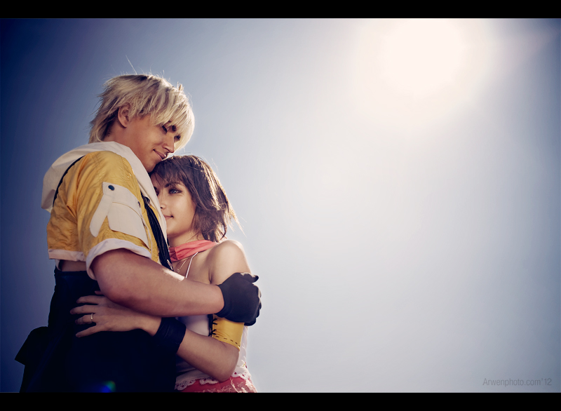 Tidus and Yuna: Together at last by Aoki-Lifestream